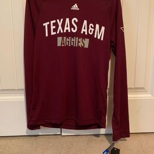 Maroon Texas A&M light weight hoodie